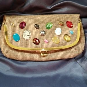 New Vintage clutch cosmetic bag